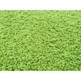 Vopi koberce Kusový koberec Color shaggy zelený,   80x150 cm Zelená - Vrácení do 1 roku ZDARMA