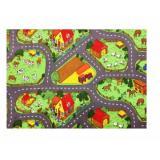 Vopi koberce Kusový koberec Farma II.,   133x133 čtverec Zelená - Vrácení do 1 roku ZDARMA