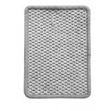 Vopi koberce Kusový koberec Nature platinový,   57x120 cm Šedá - Vrácení do 1 roku ZDARMA