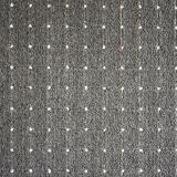 Vopi koberce Kusový koberec Udinese antracit čtverec - 100x100 cm Černá