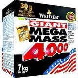 Weider, Giant Mega Mass 4000, Gainer, 7000 g, Jahoda,Weider, Giant Mega Mass 4000, Gainer, 7000 g, Jahoda