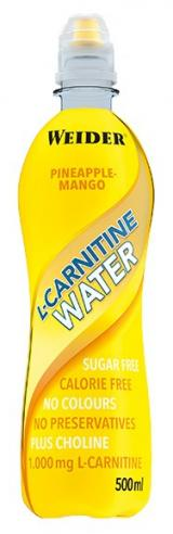 Weider L-Carnitine Water, 500 ml, Pineapple-mango