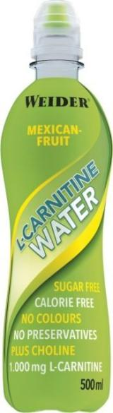 Weider L-Carnitine Water Mexican-fruit 500 ml,Weider L-Carnitine Water Mexican-fruit 500 ml
