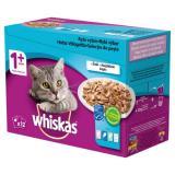 Whiskas kapsičky pro dospělé kočky rybí výběr v želé 48x100 g