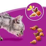 Whiskas Trio Crunchy Treats - maso 55 g