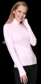 William de Faye dámský rolák WF313_1 M světle růžová