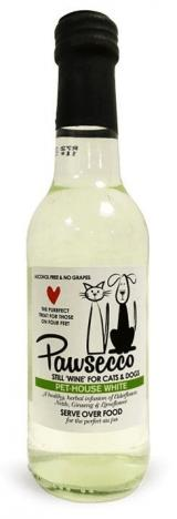 Woof & Brew Pawsecco White pro psy a kočky