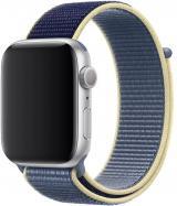 Wotchi Provlékací sportovní řemínek pro Apple Watch - Seversky modrý 42/44 mm