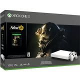 Xbox One X   Fallout 76 Robot White Special Edition