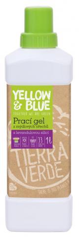 Yellow and Blue Prací gel s levandulí z bio mýdlových ořechů 1l