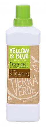 Yellow and Blue Prací gel z mýdlových ořechů na vlnu 1l