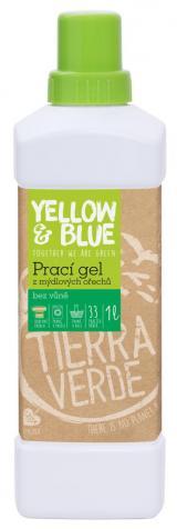 Yellow and Blue Prací gel z ořechů natural 1l