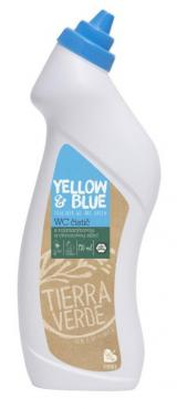 Yellow and Blue WC čistič s kyselinou citronovou 750ml