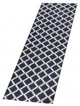 Zala Living - Hanse Home koberce Protiskluzový běhoun Home Black White 103156 - 50x150 cm Černá