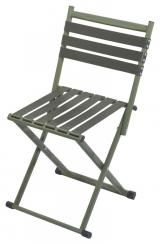 Židle kempingová skládací Cattara Nature   opěradlo - olivová