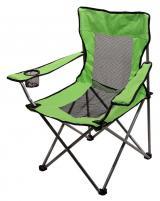 Židle kempingová skládací Cattara Net - zelená
