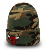 Zimní čepice New Era Essential Camo Knit NBA Chicago Bulls