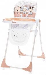 ZOPA Jídelní židlička MONTI, Animal Beige - zánovní
