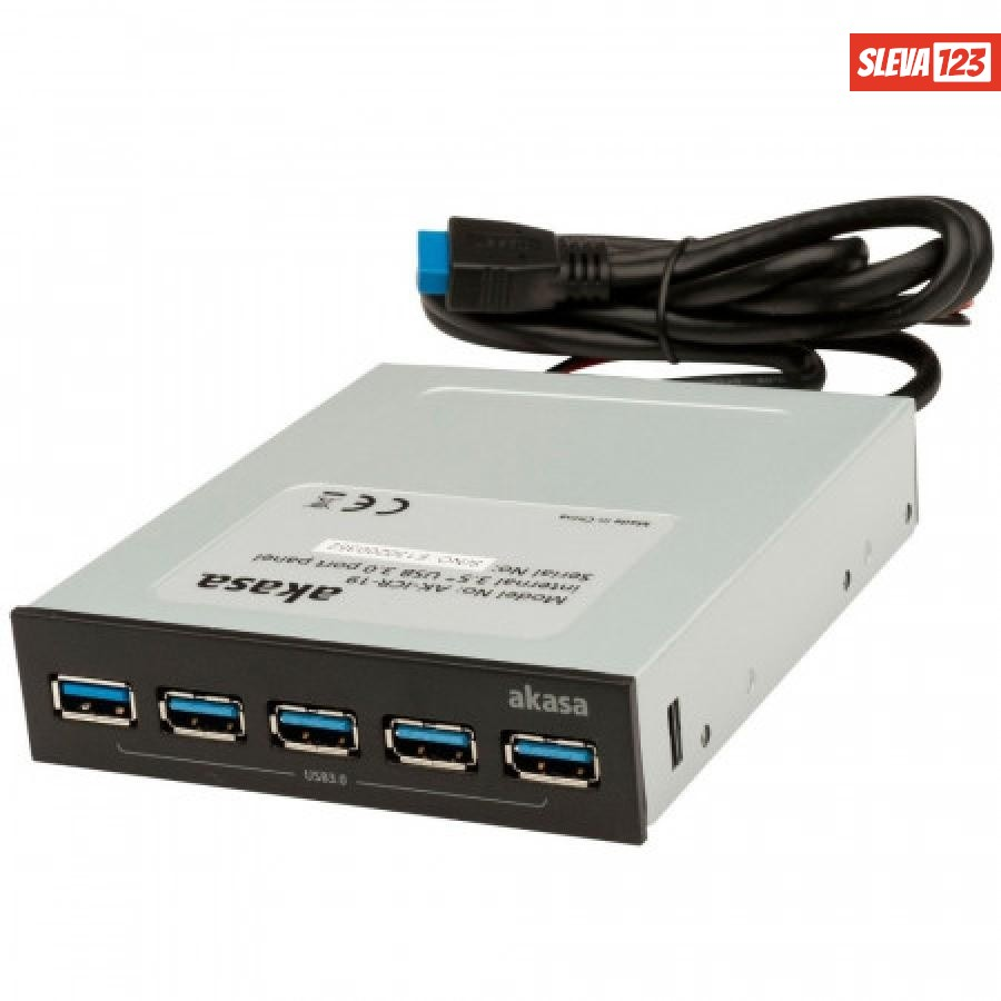 AKASA interní USB Hub do 3,5