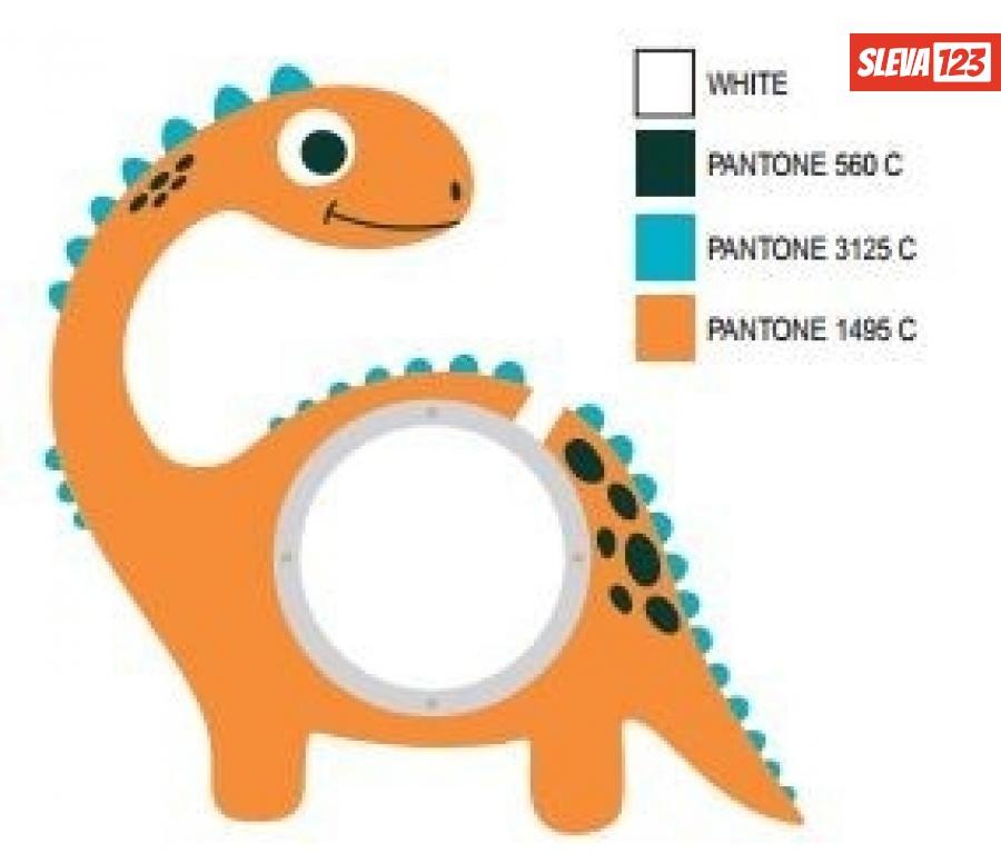 ALBI Pokladnička - Dinosaur