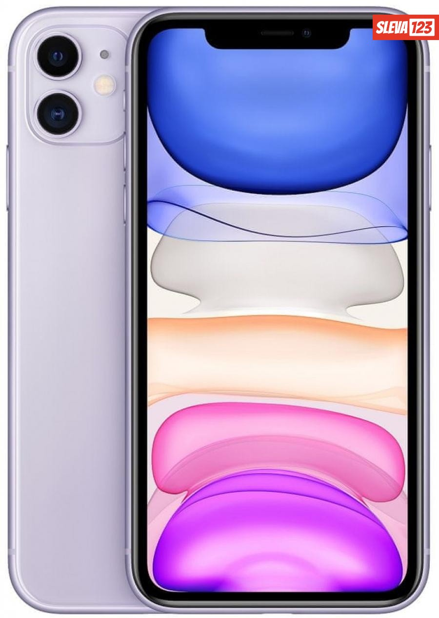 Apple iPhone 11, 256GB, Purple - rozbaleno