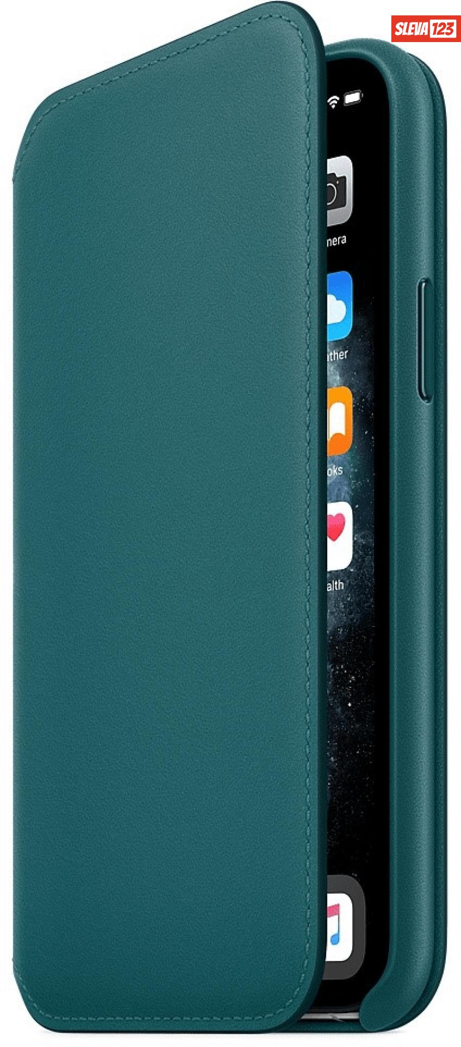 Apple iPhone 11 Pro Leather Folio - Peacock MY1M2ZM/A
