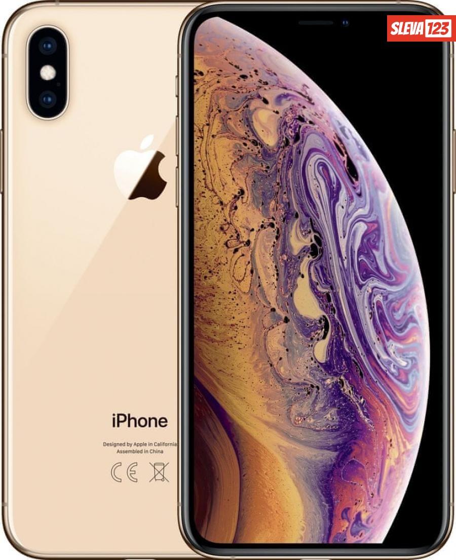 Apple iPhone Xs Max, 64GB, Zlatý - zánovní