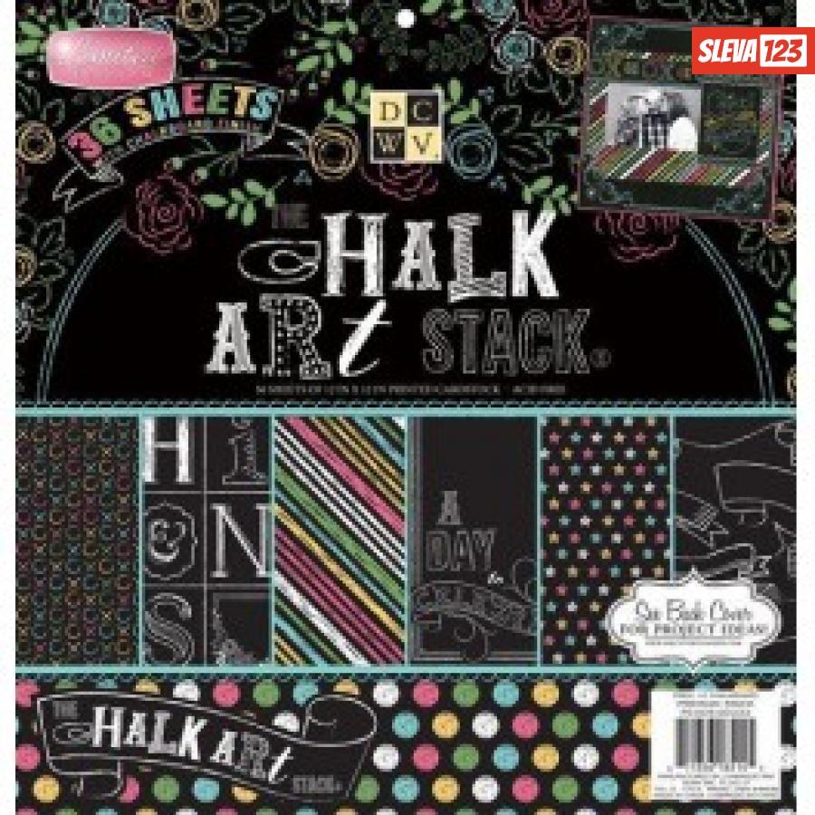 Chalk Art Stack 30,5x30,5cm - 36ks  990208