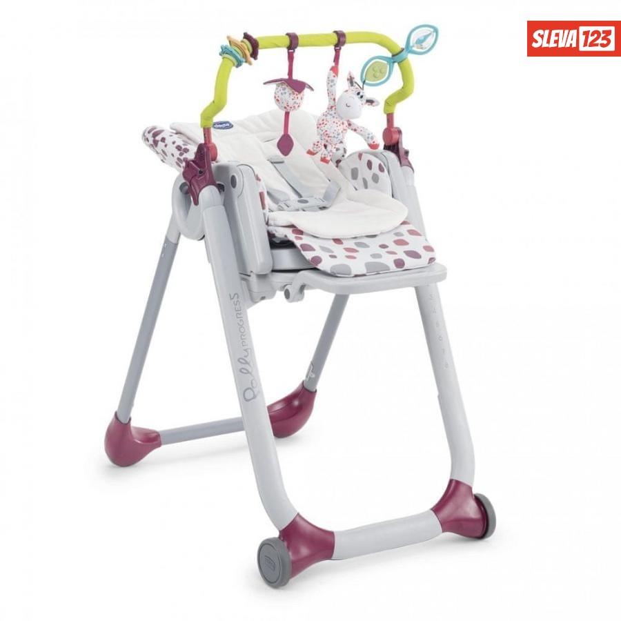Chicco doplňky k jídelní židličce Polly Progr - rozbaleno