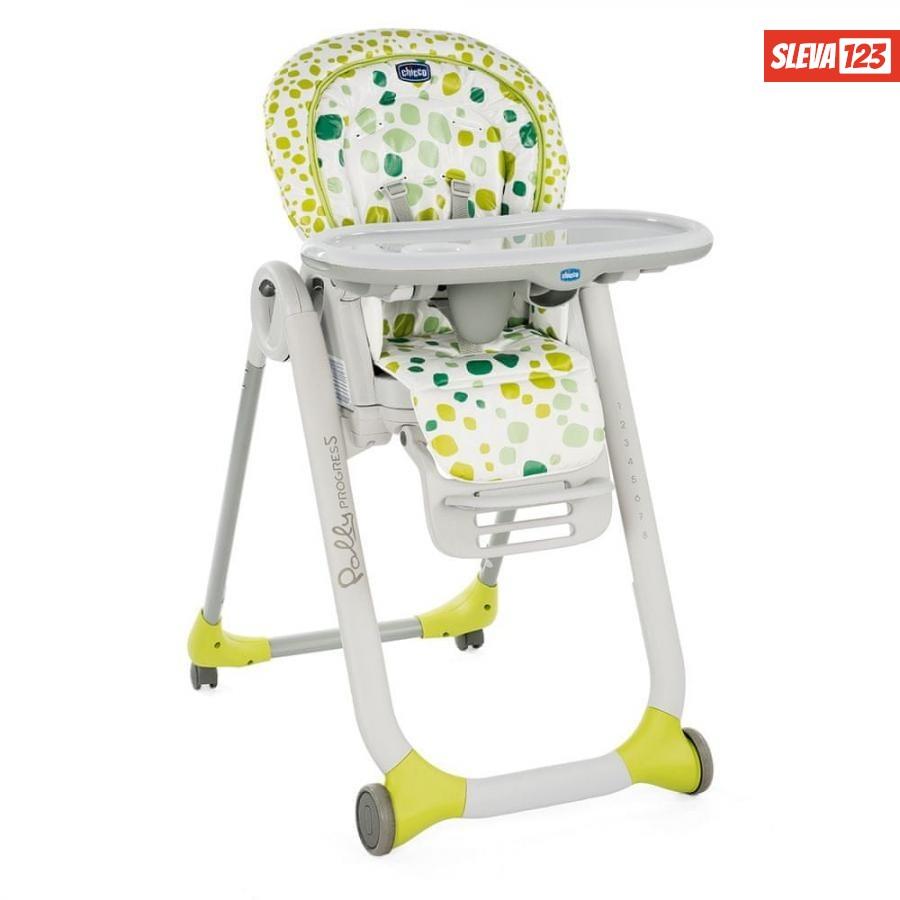 Chicco Židlička jídelní Polly Progres5 - Kiwi