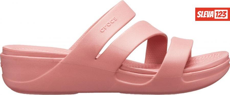 Crocs Dámské pantofle Crocs Monterey Wedge W Blossom 206304-682 38-39