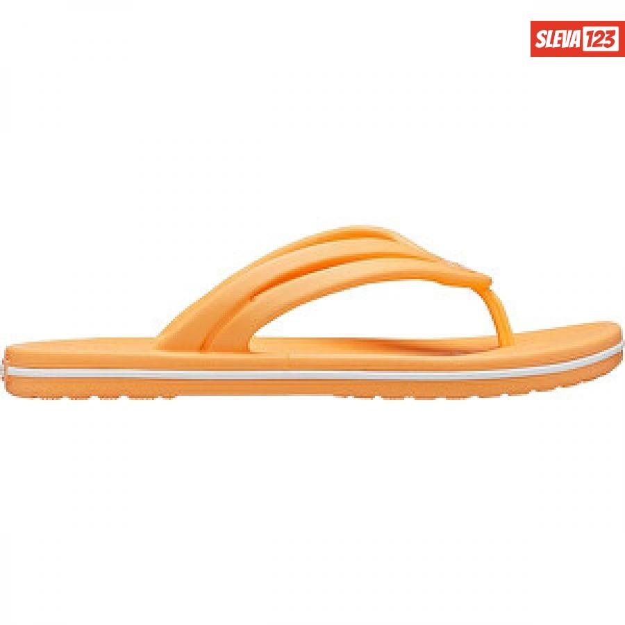 Crocs Dámské žabky Crocband Flip W Cantaloupe 206100-801 39-40