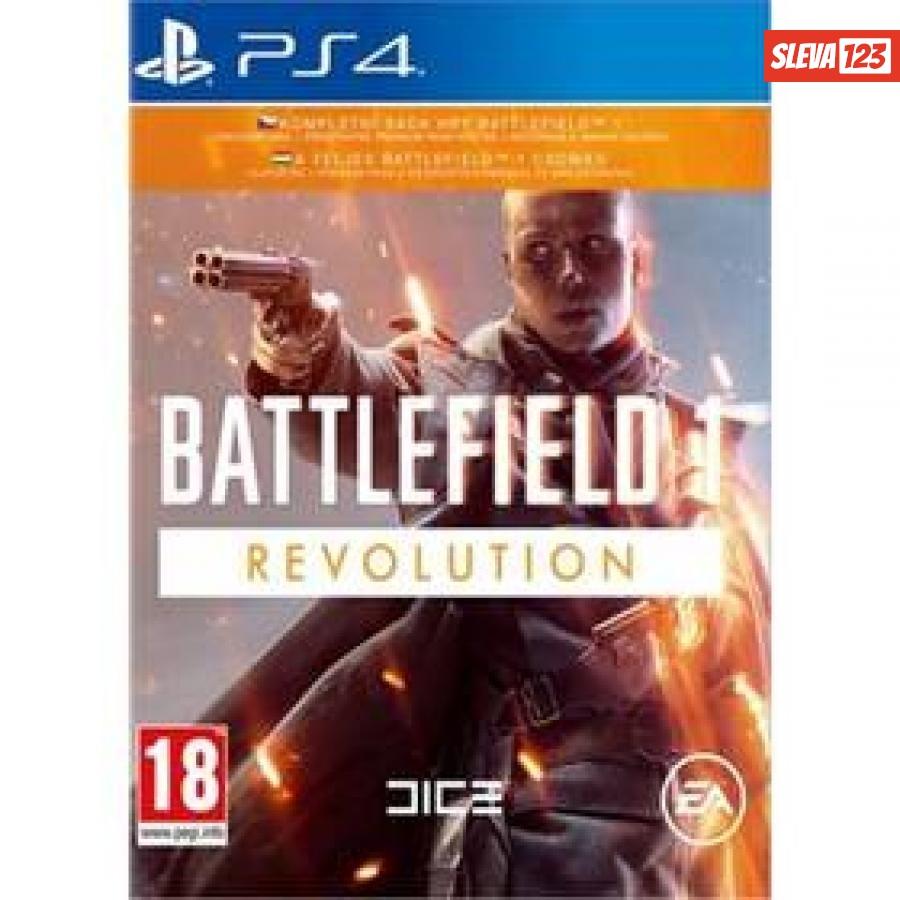 EA PlayStation 4 Battlefield 1 Revolution