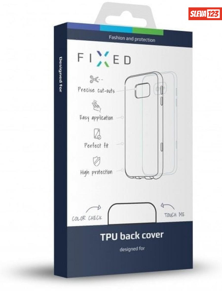 Fixed TPU gelové pouzdro pro Xiaomi Mi9 Lite, čiré  - rozbaleno