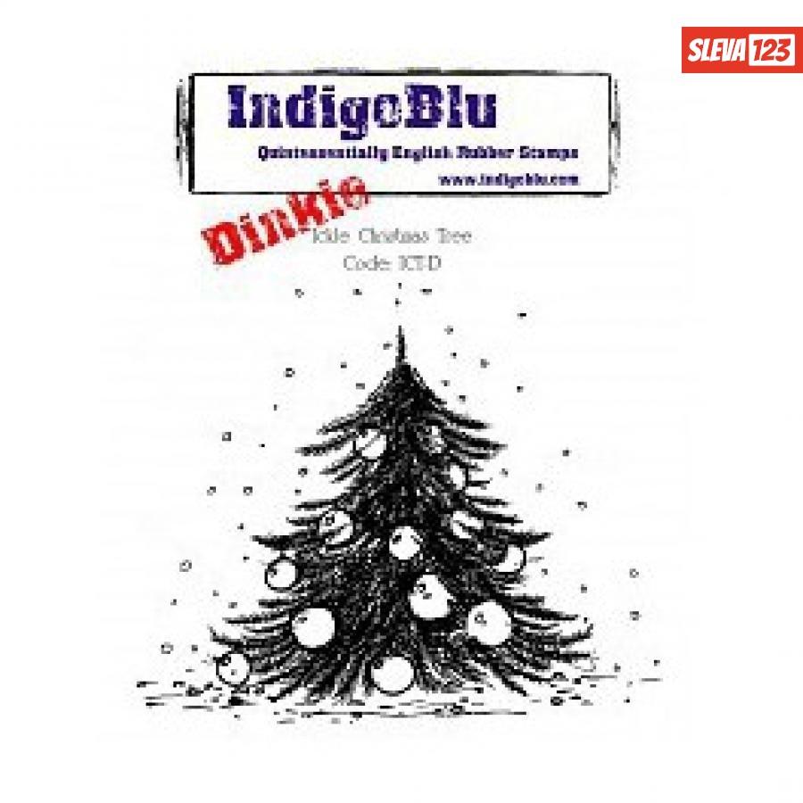 IndigoBlu Ickle Christmas Tree Dinkie Mounted A7  124002