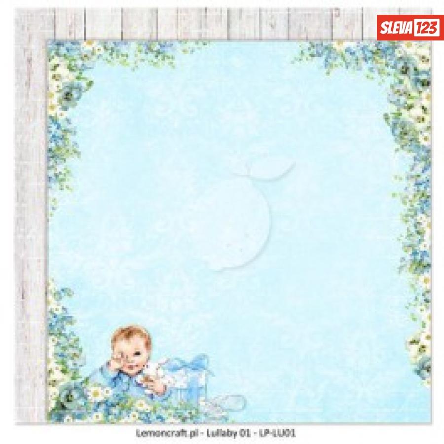 Papír 30,5x30,5 - Lullaby 01 - 12