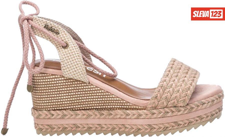 Refresh Dámské sandále Nude Textile Ladies Sandals 69682 Nude 39