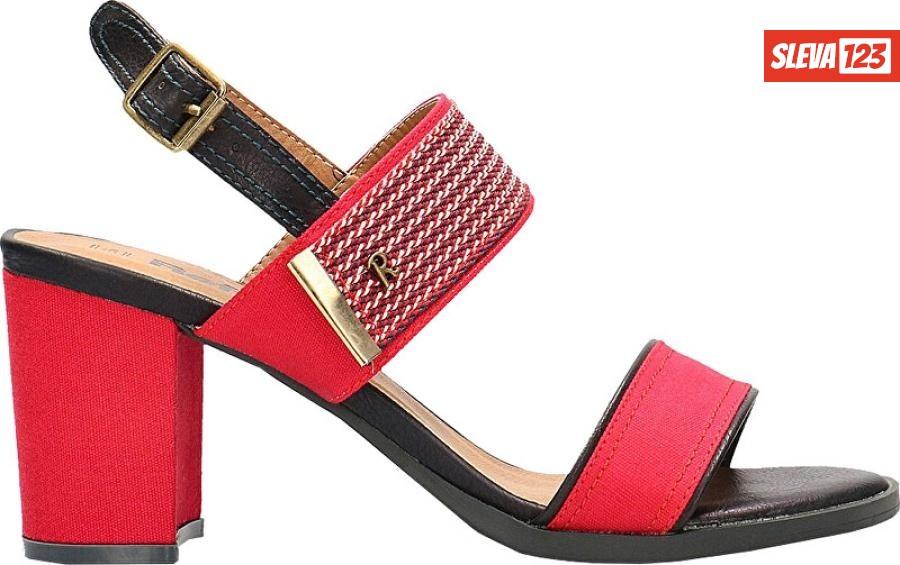 Refresh Dámské sandále Red Textile Ladies Sandals 69598 Red 40