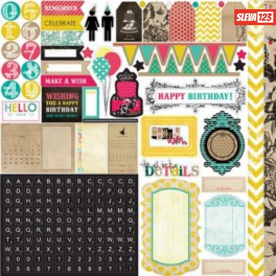 Samolepky - Birthday Wishes  92656