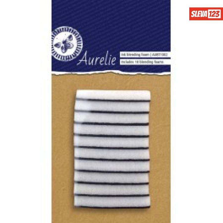 Samostatné polštářky na nanášení inkoustů  Aurelia - 10ks  120003