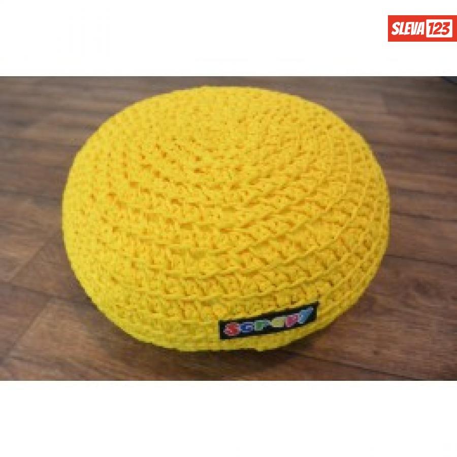 Sedák - bobík - žlutý  111