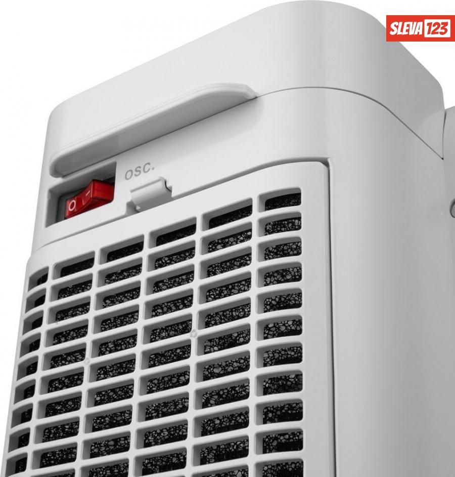 SENCOR Teplovzdušný ventilátor SFH 8050SL