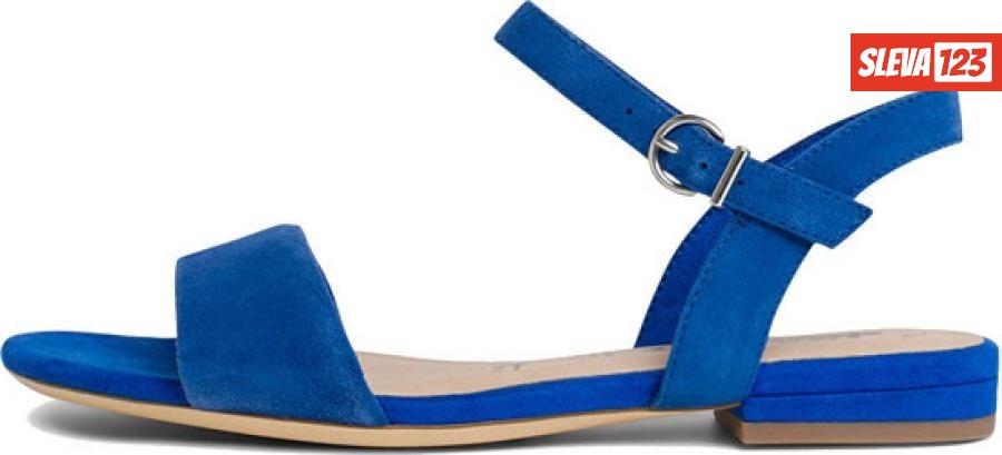 Tamaris Dámské sandále 1-1-28100-24-838 Royal - Velikost 38