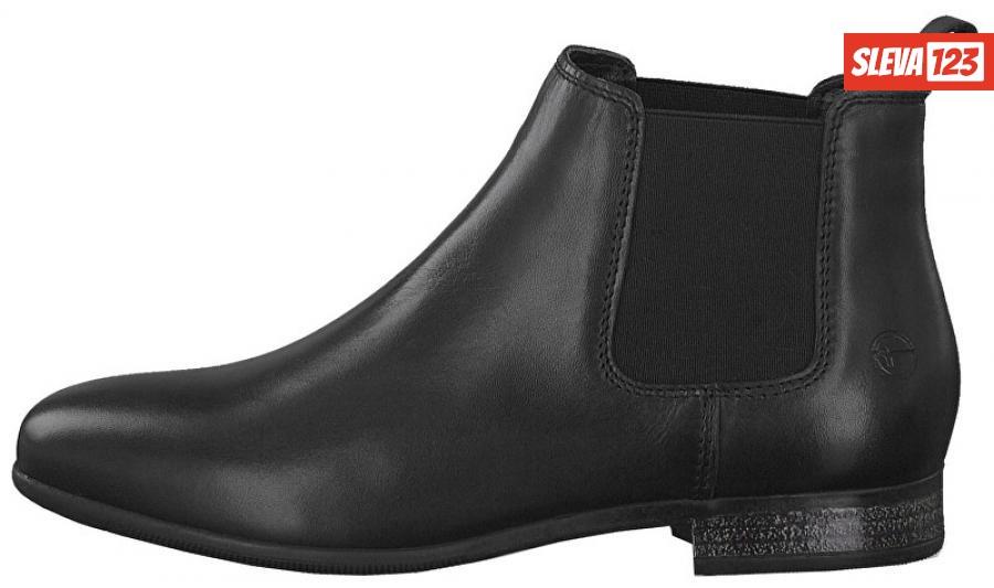 Tamaris SLEVA Dámské kotníkové boty 1-1-25326-23-001 Black