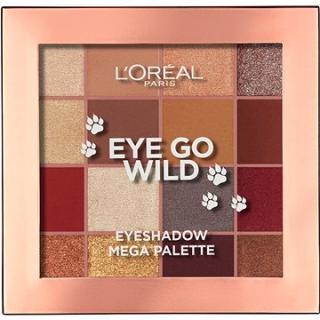 ĽORÉAL PARIS Eye Go Wild Eyeshadow Mega Palette 17 g