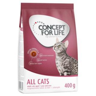 1 1 zdarma! 2 x 400 g Concept for Life granule pro kočky - British Shorthair