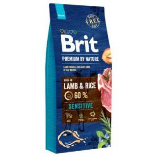 15 / 8 kg Brit granule   hračka vánoční stromeček zdarma! Nature Adult S, 8 kg