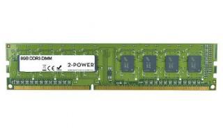 2-Power 8GB MultiSpeed 1066/1333/1600 MHz DDR3 Non-ECC DIMM 2Rx8 , MEM0304A
