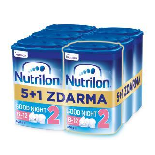 6x NUTRILON 2 ProNutra Good Night  - kojenecké mléko