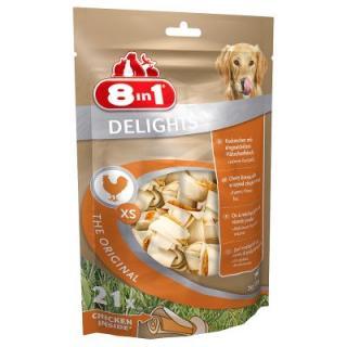 8in1 kost žvýkací Delights - XS, 7 ks